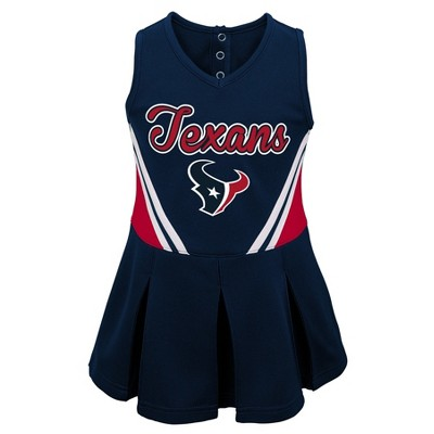 Houston Texans Baby Girls' Cheer Set 12 M