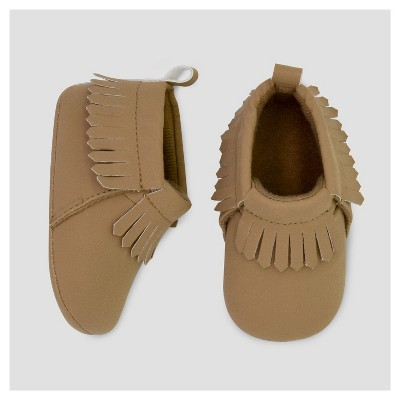 Baby Boys' Laser Cut Moccasin - Just One You™ Made by Carter's® Tan 1