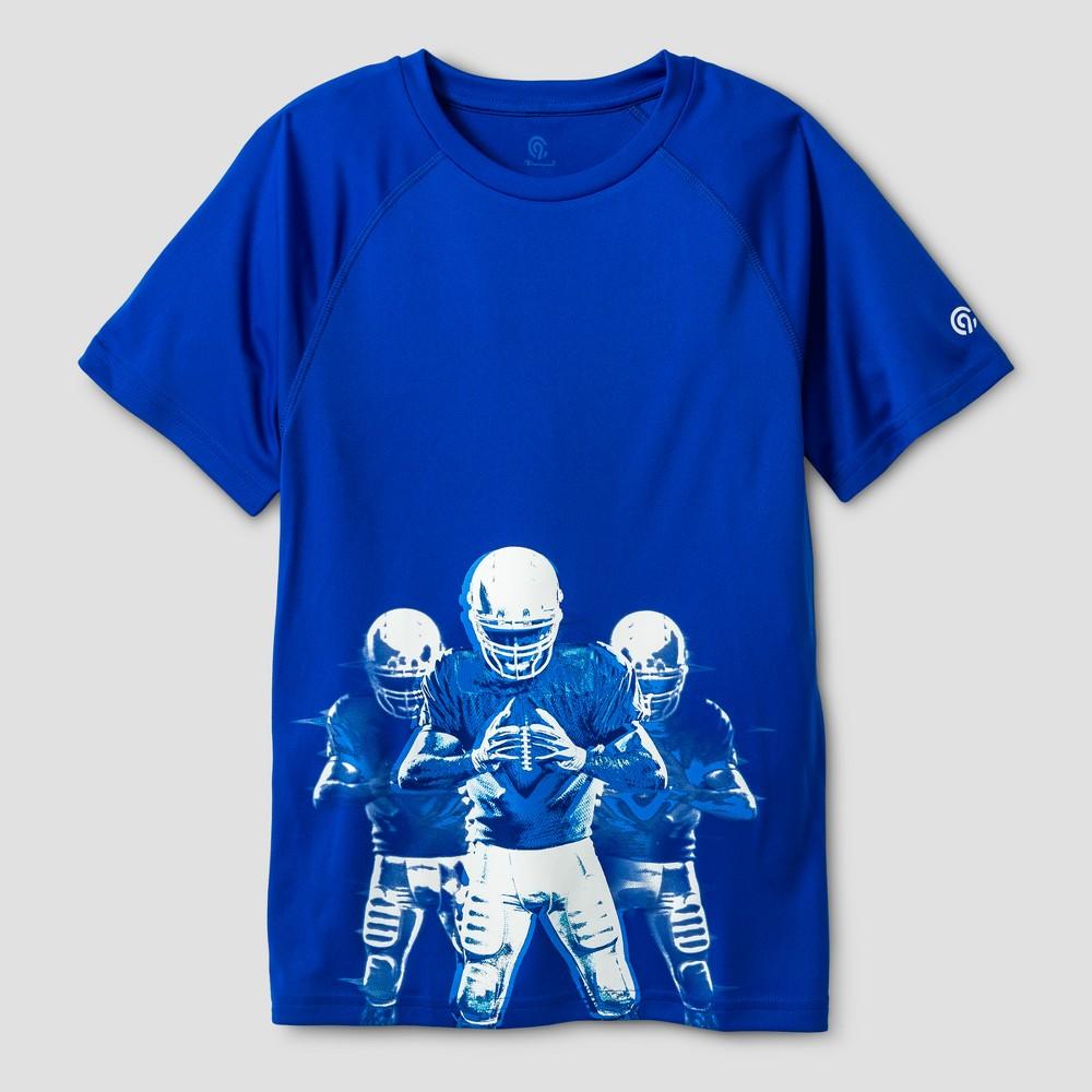 Boys Graphic Tech T-Shirt - C9 Champion Flight Blue L Football Players