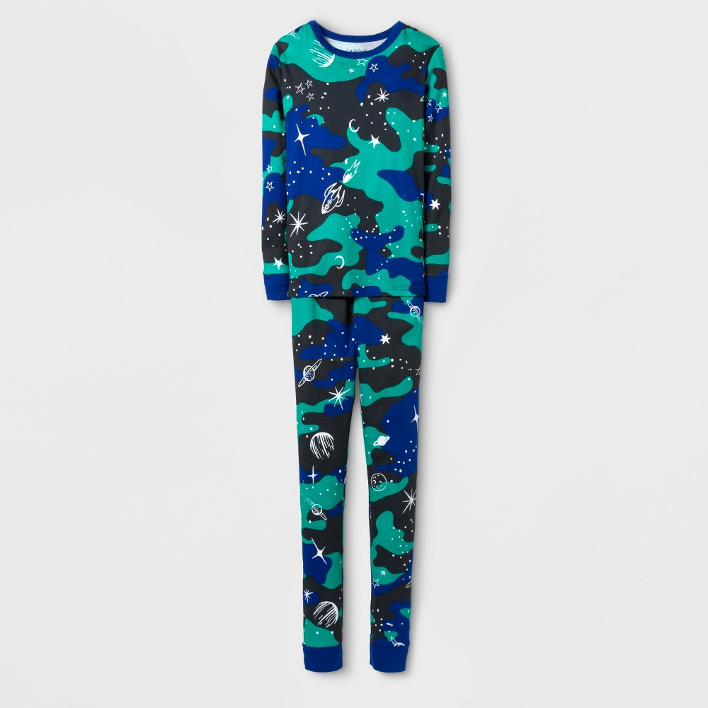 Boys' Pajama Set - Cat & Jack Blue 8