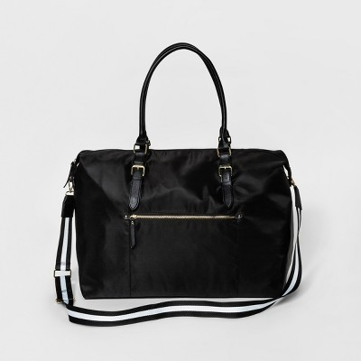 Women's Weekender Bags - Merona™ Black Solid
