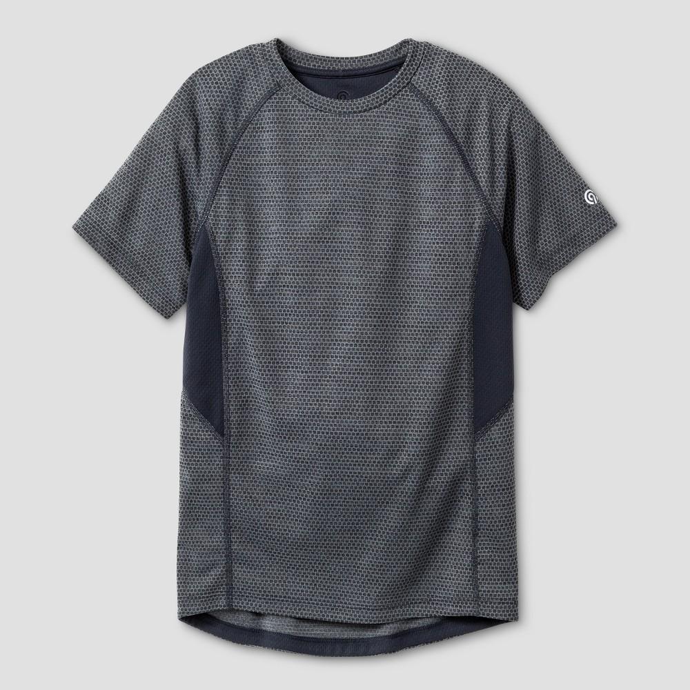 Boys Novelty Tech T-Shirt - C9 Champion Concrete Gray Heather XL, Heather Gray