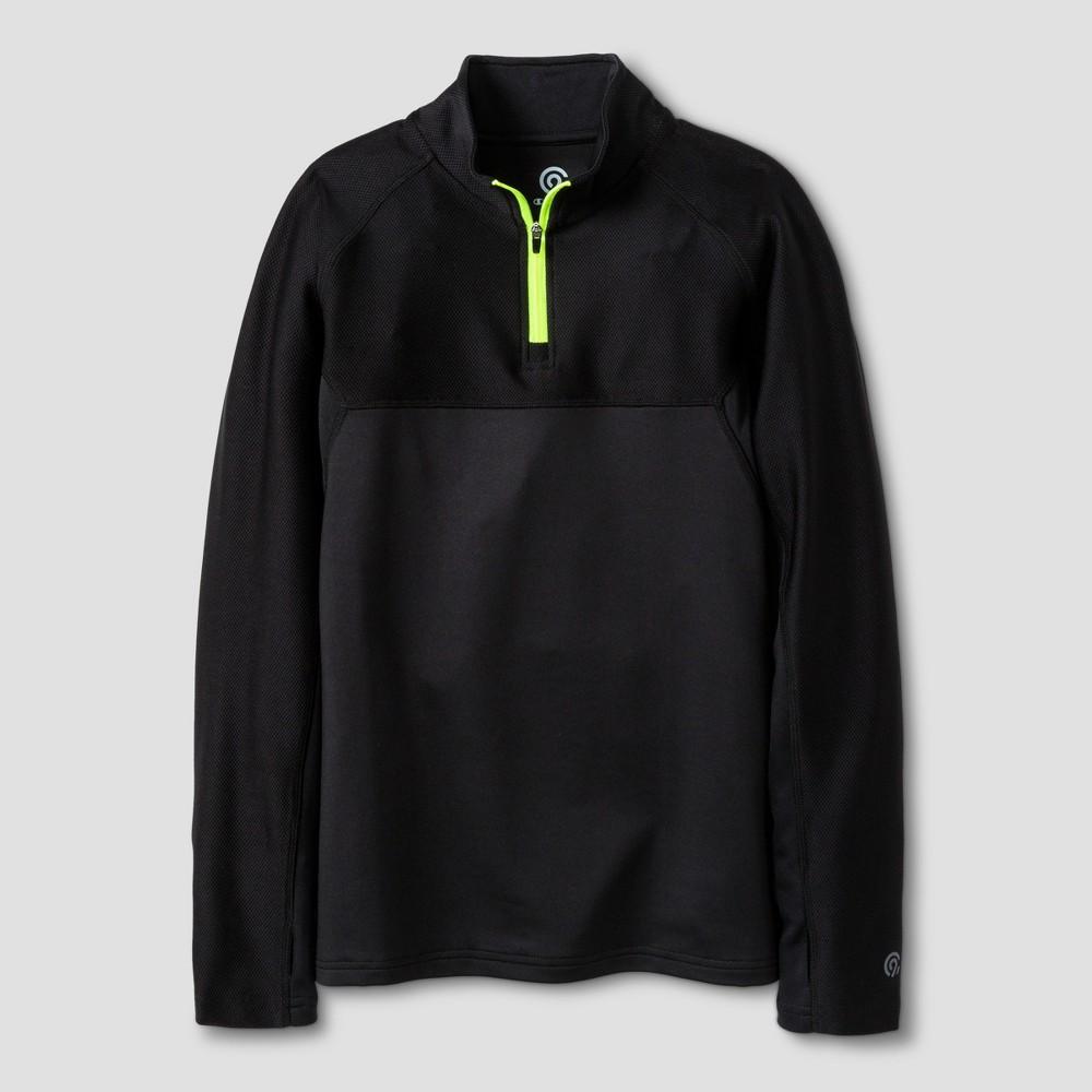 Boys 1/4 Zip Pullovers - C9 Champion Black M