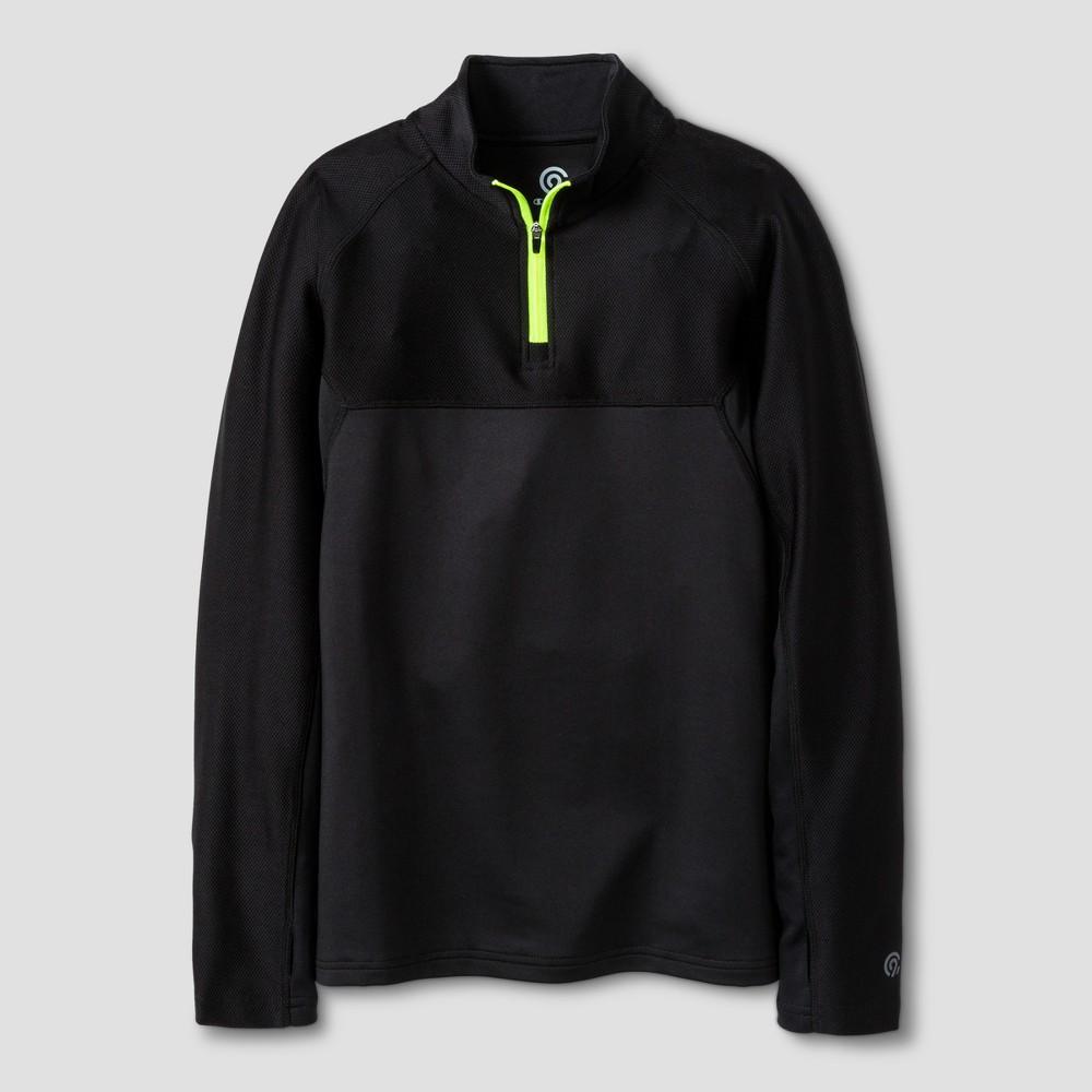 Boys 1/4 Zip Pullovers - C9 Champion Black XS