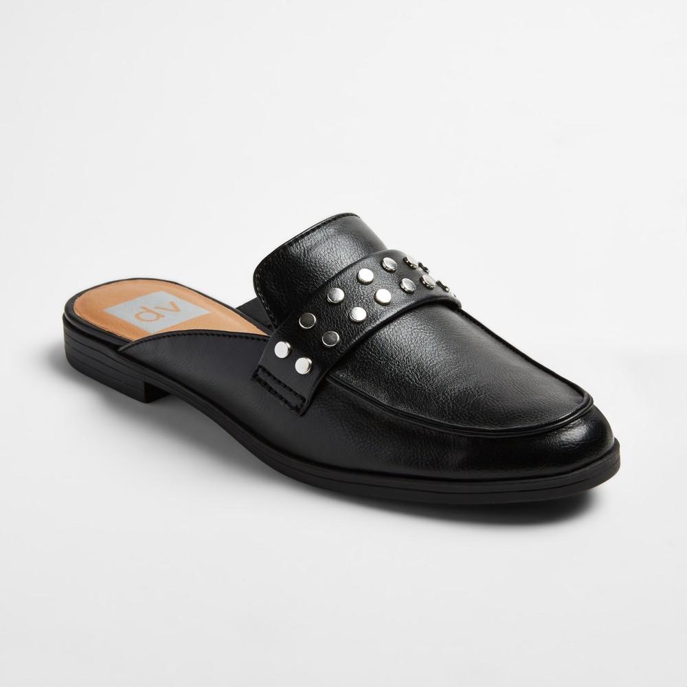 Womens dv Amery Backless Slide Mules - Black 6.5