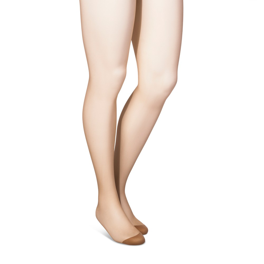 Maternity Sheer Pantyhose - Isabel Maternity by Ingrid & Isabel Nude L, Womens, White