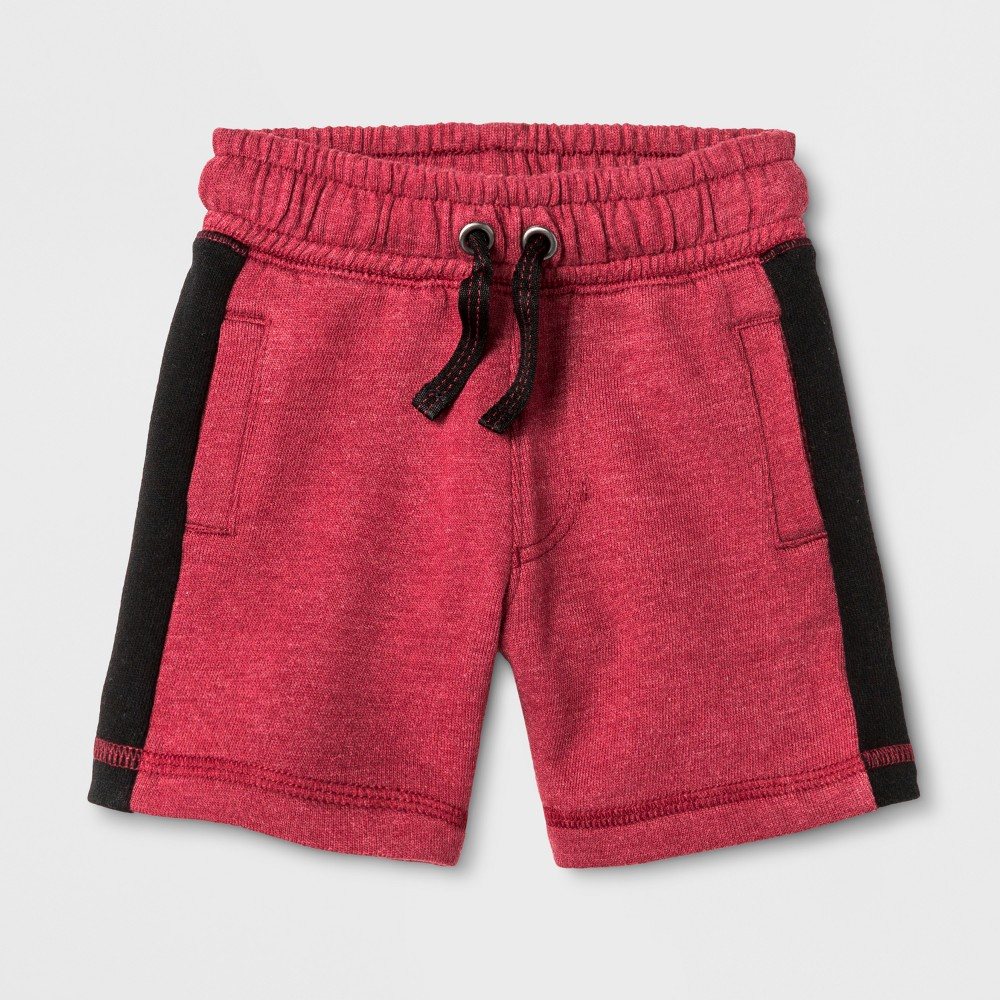 Toddler Boys Lounge Shorts Cat & Jack Red 2T