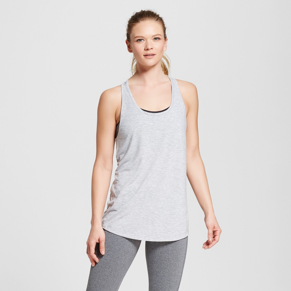 Love Life Live - Womens Braided Back Tank Top - Gray Heather L