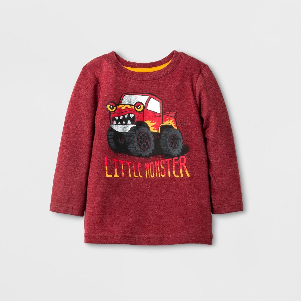 Toddler Boys T-Shirt - Cat & Jack Red 2T