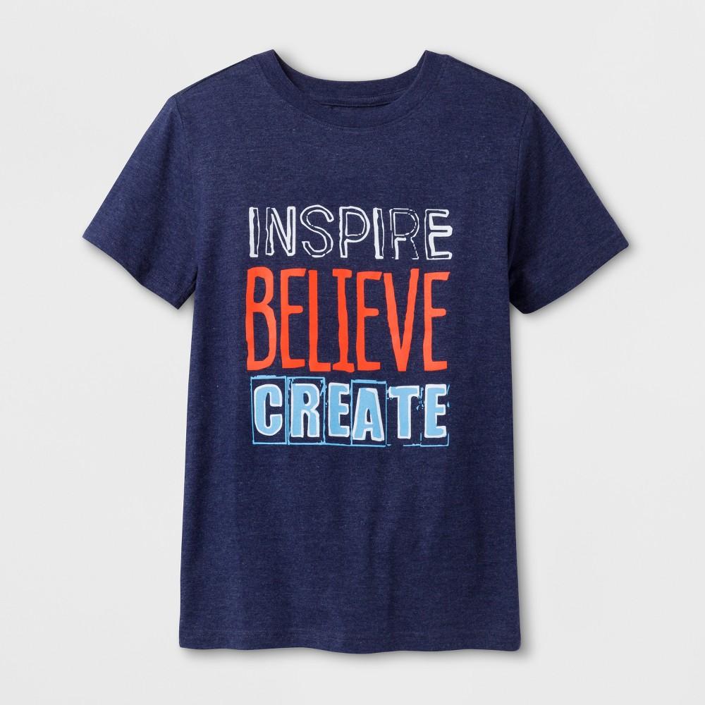 Boys Inspire Graphic T-Shirt - Cat & Jack Blue XS