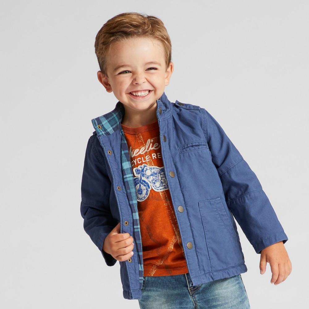 Toddler Boys Fashion Jackets Genuine Kids from OshKosh Blue 3T