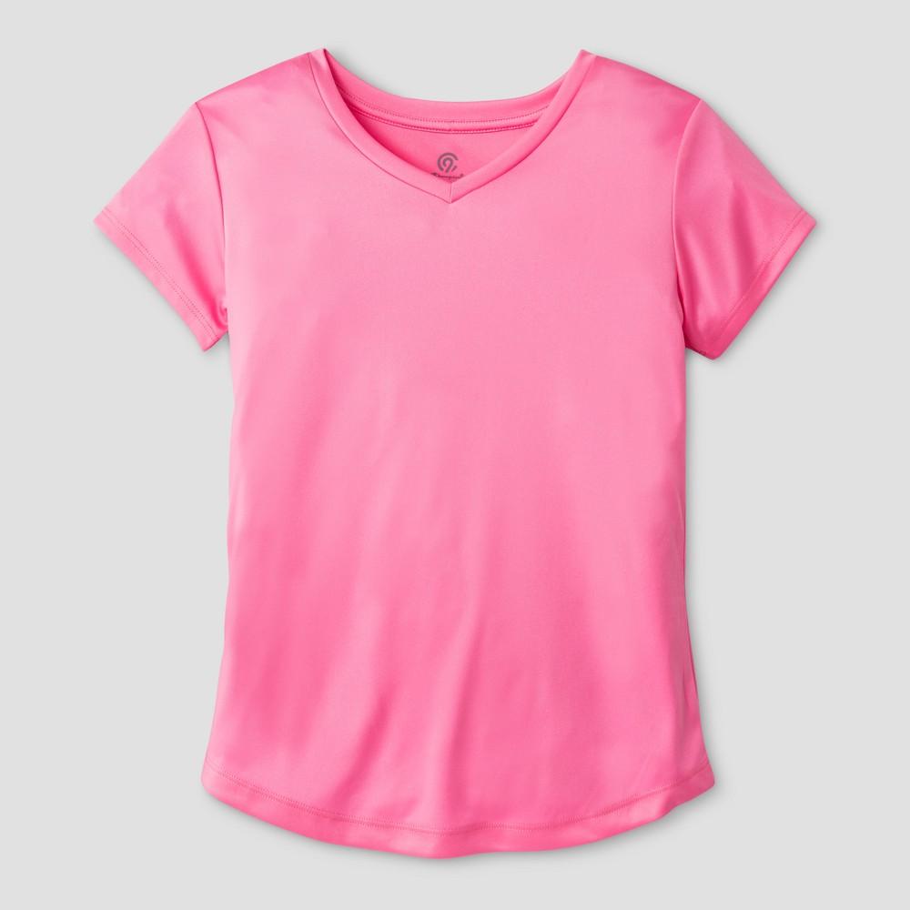 Girls Tech T-Shirt Gabby - C9 Champion Pink XL