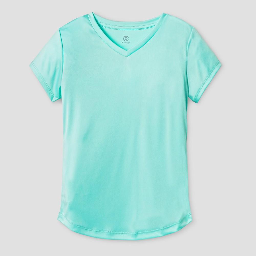 Girls Tech T-Shirt - C9 Champion Light Sea Green L