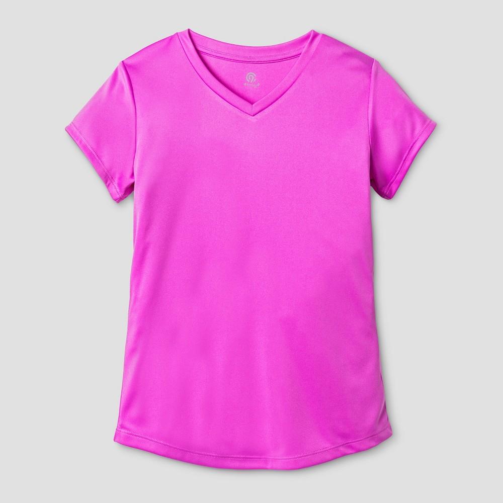 Girls Tech T-Shirt - C9 Champion Aurora Purple M