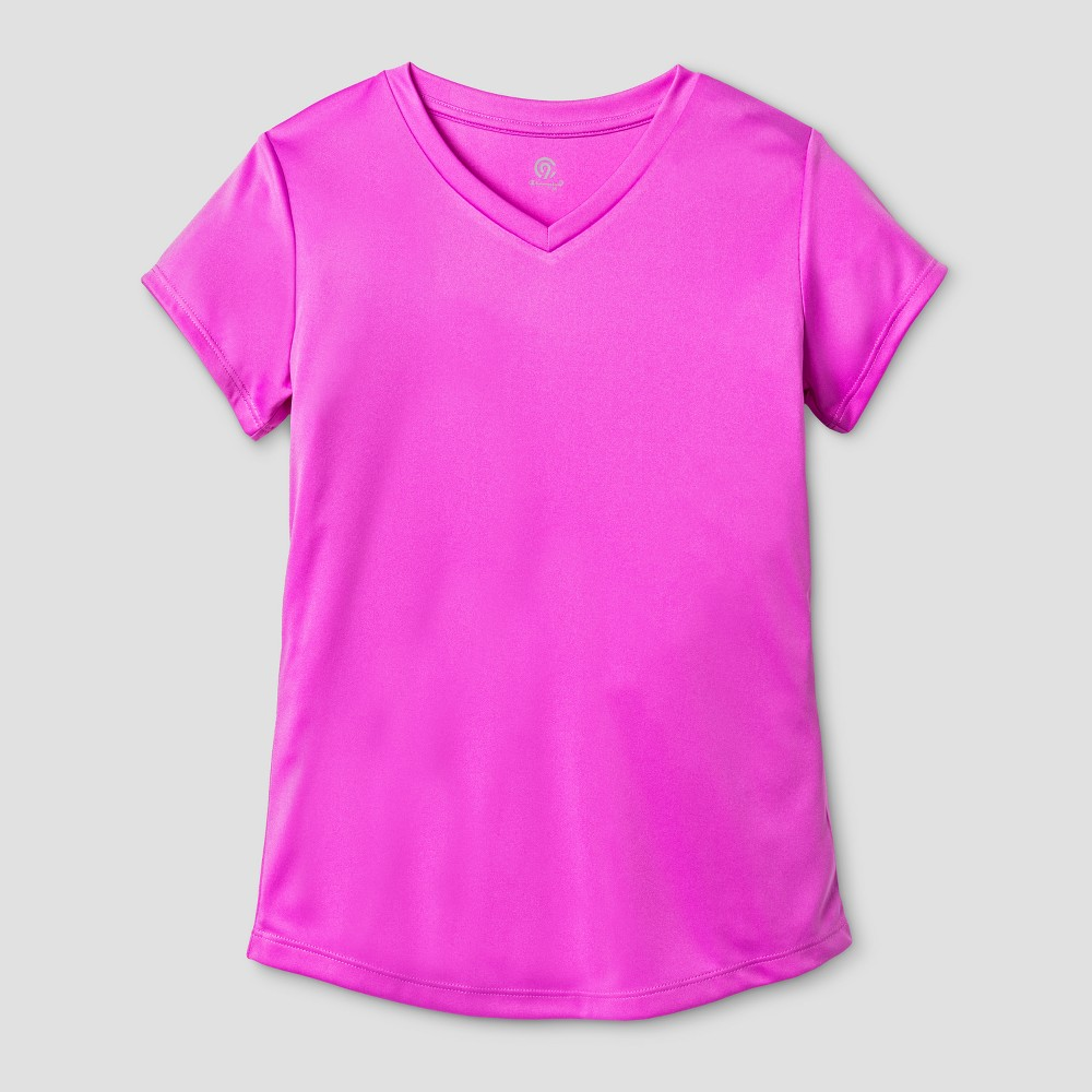 Girls Tech T-Shirt - C9 Champion Aurora Purple XL