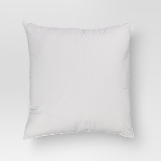 """Solid Euro Square Pillow (26""""x26"""") White - Threshold : Target"""