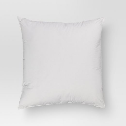 Solid Euro Square Pillow (26x26) White - Threshold™