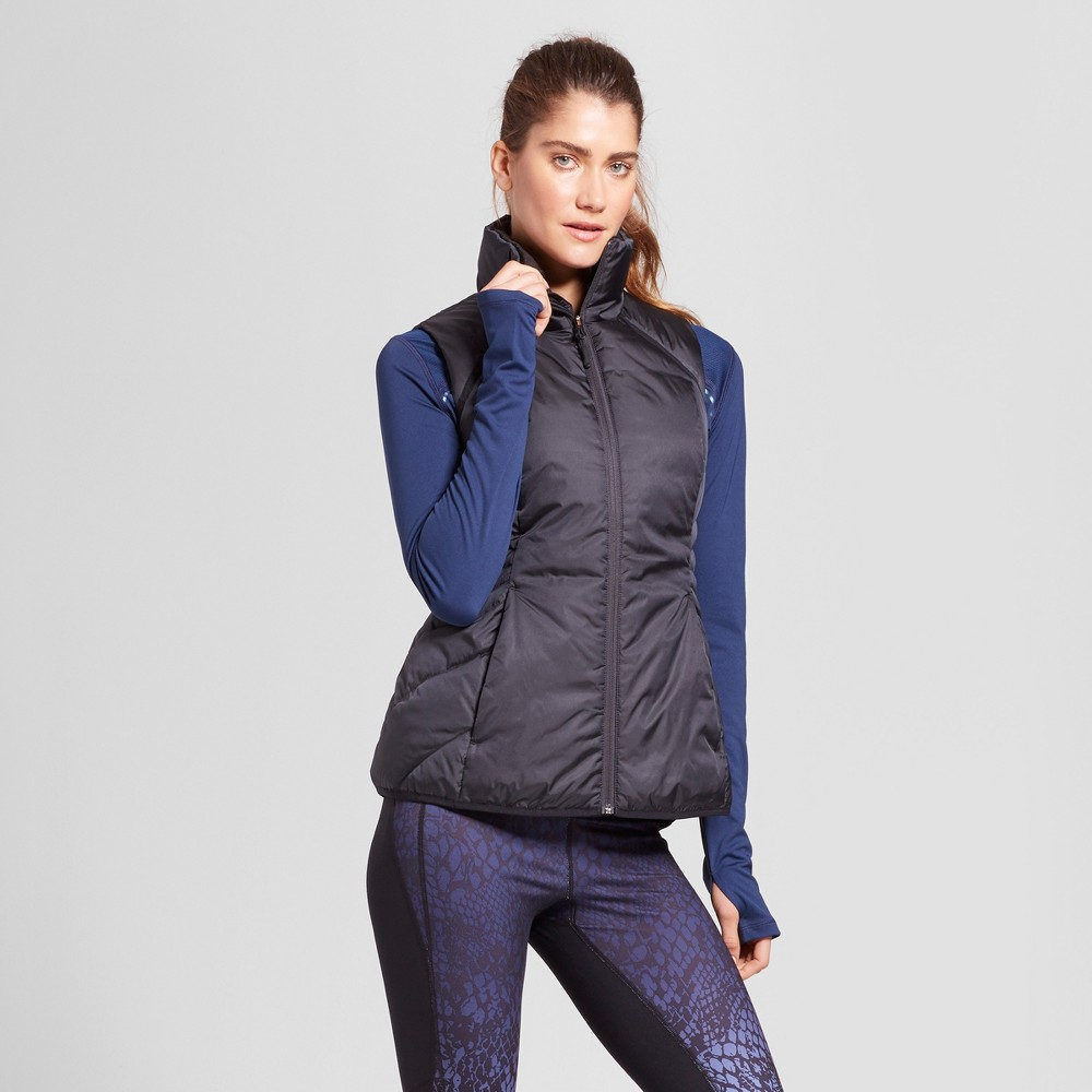 Womens Puffer Vest - C9 By Champion Black S