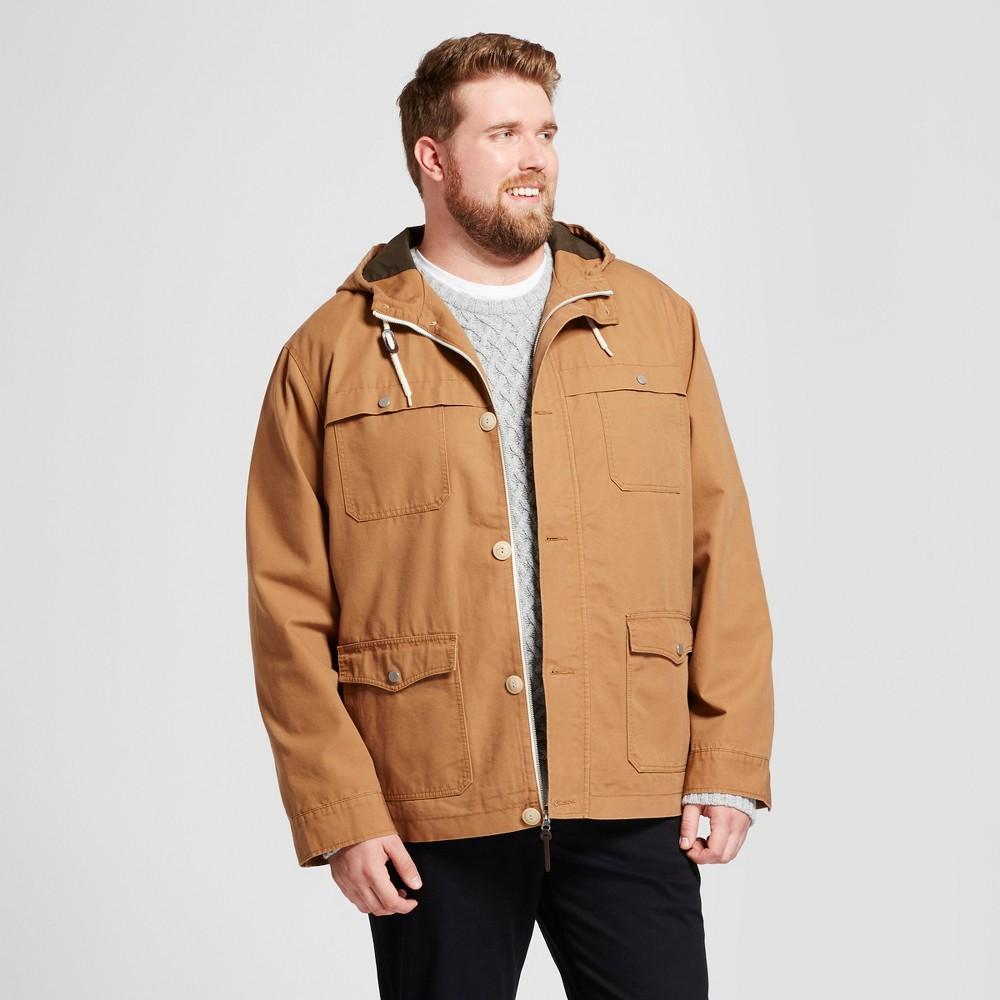 Mens Big & Tall Standard Fit Workwear Jacket - Goodfellow & Co Brown 2XB