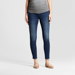 Maternity Crossover Panel® Jeggings - Isabel Maternity™ by Ingrid & Isabel® Dark Wash
