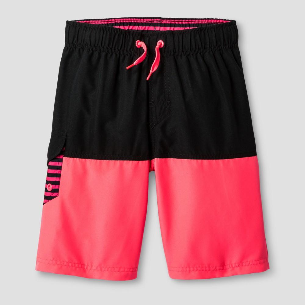 Boys Swim Shorts Cat & Jack - Pink S