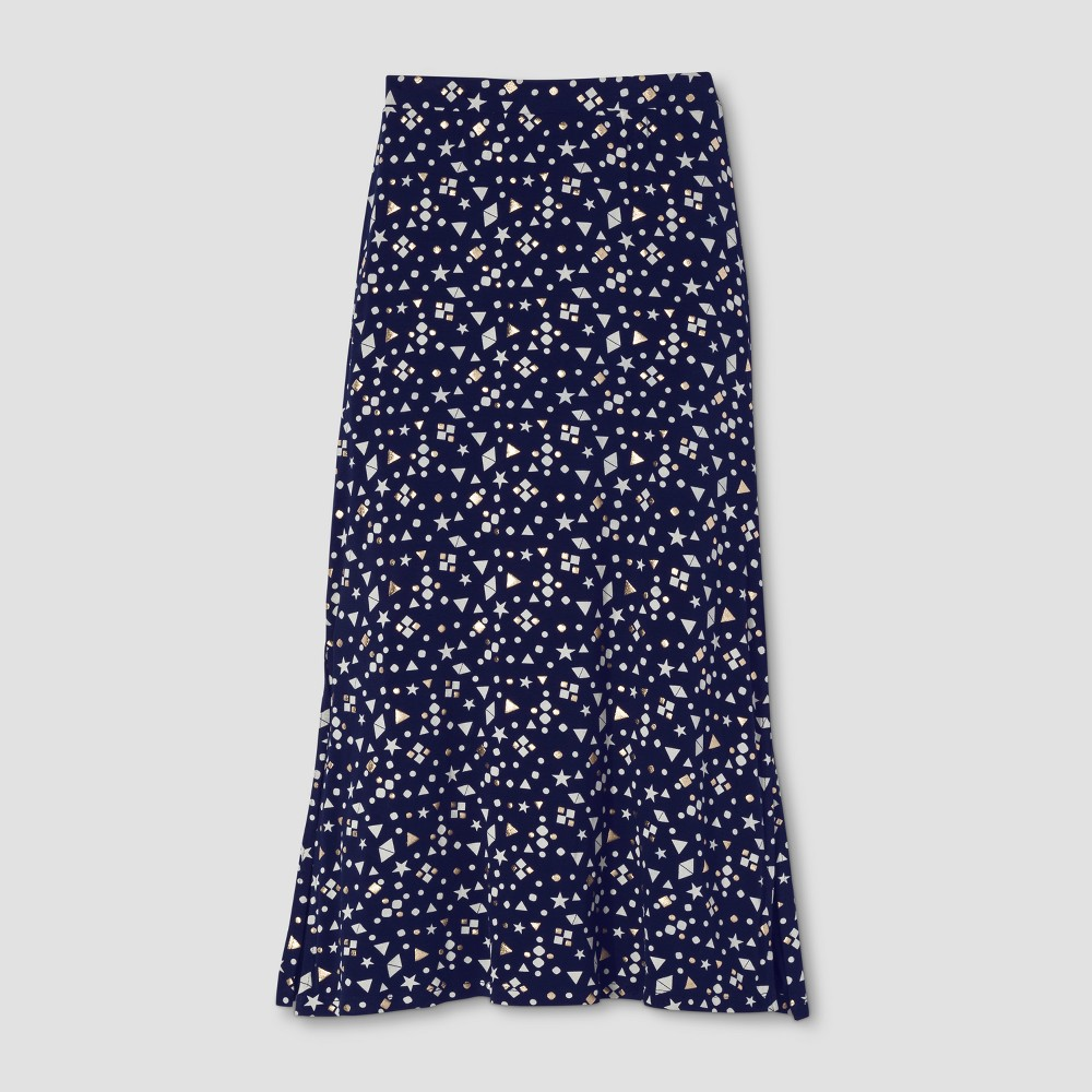 Girls Maxi Skirt - Cat & Jack Nightfall Navy XS, Blue