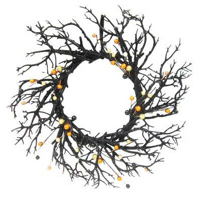 Halloween 20  Branch Wreath With Berries - Hyde and Eek! Boutique™