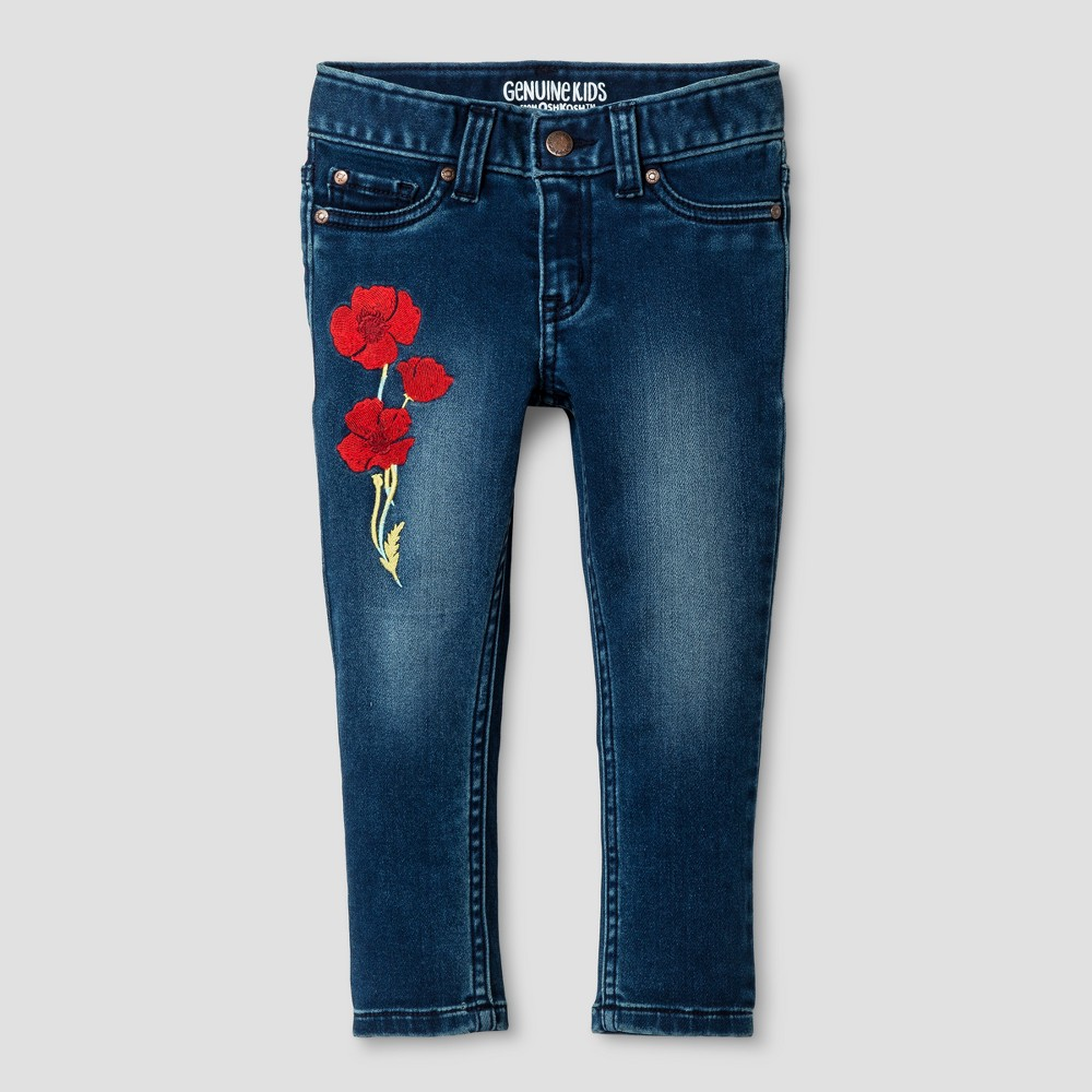 Toddler Girls Skinny Jeans - Genuine Kids from OshKosh Artic Blue 5T