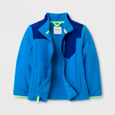 Toddler Boys' Fleece Jacket - Cat & Jack™ Blue 3T