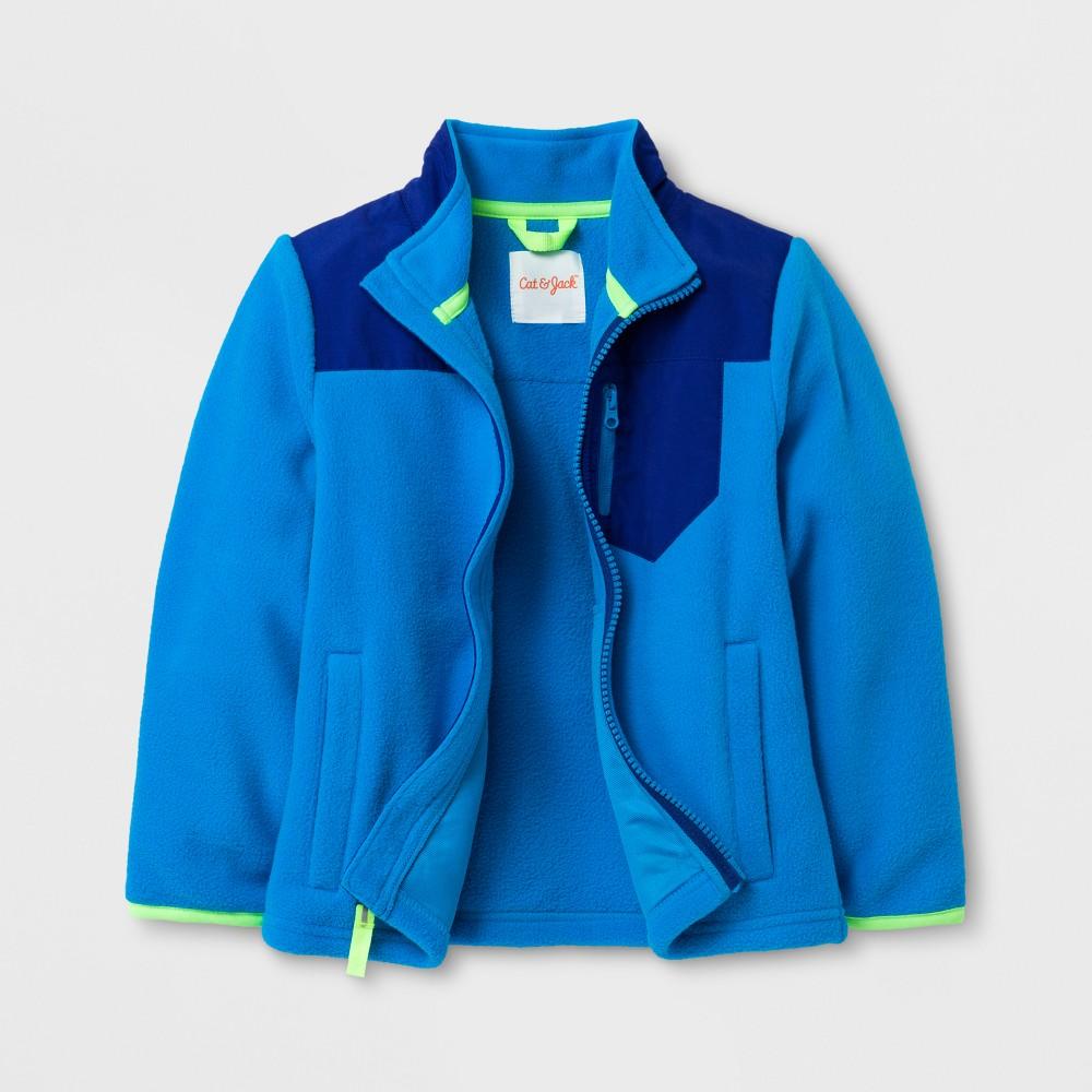 Toddler Boys Fleece Jacket - Cat & Jack Blue 4T