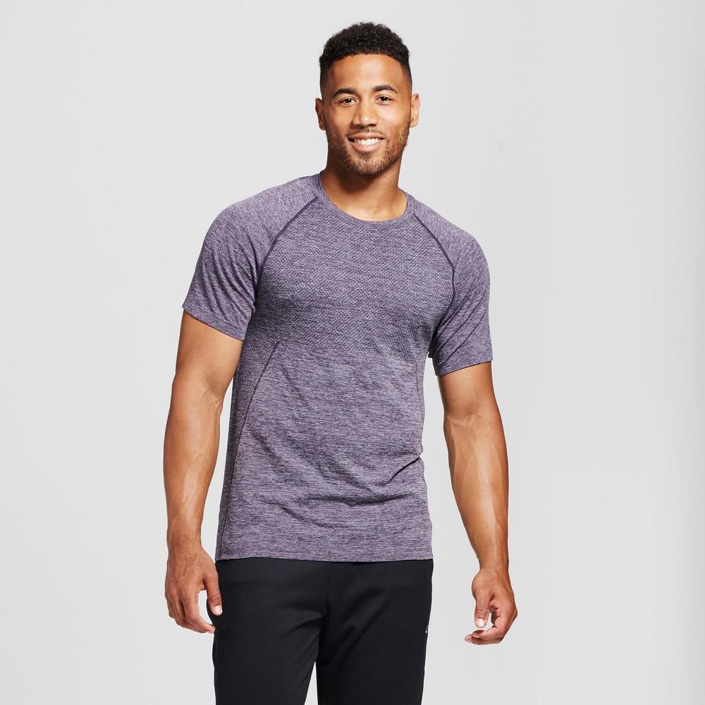 Mens Seamless Run T-shirt - C9 Champion Plum (Purple) XL