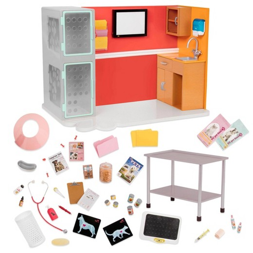 Our Generation 174 Vet Clinic Playset Target