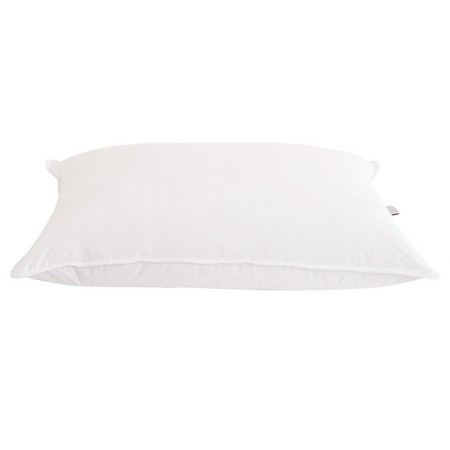 25/75 White Goose Down & Feather Blend Hotel Pillow - DOWNLITE