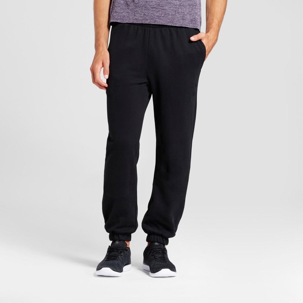 Mens Authentic Cotton Fleece Sweat Pants - C9 Champion Black XL