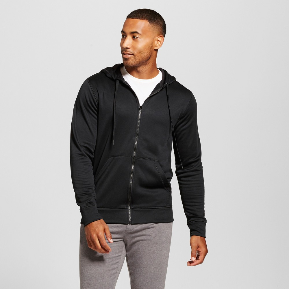 Mens Tech Fleece Full Zip Sweatshirt - C9 Champion Black M