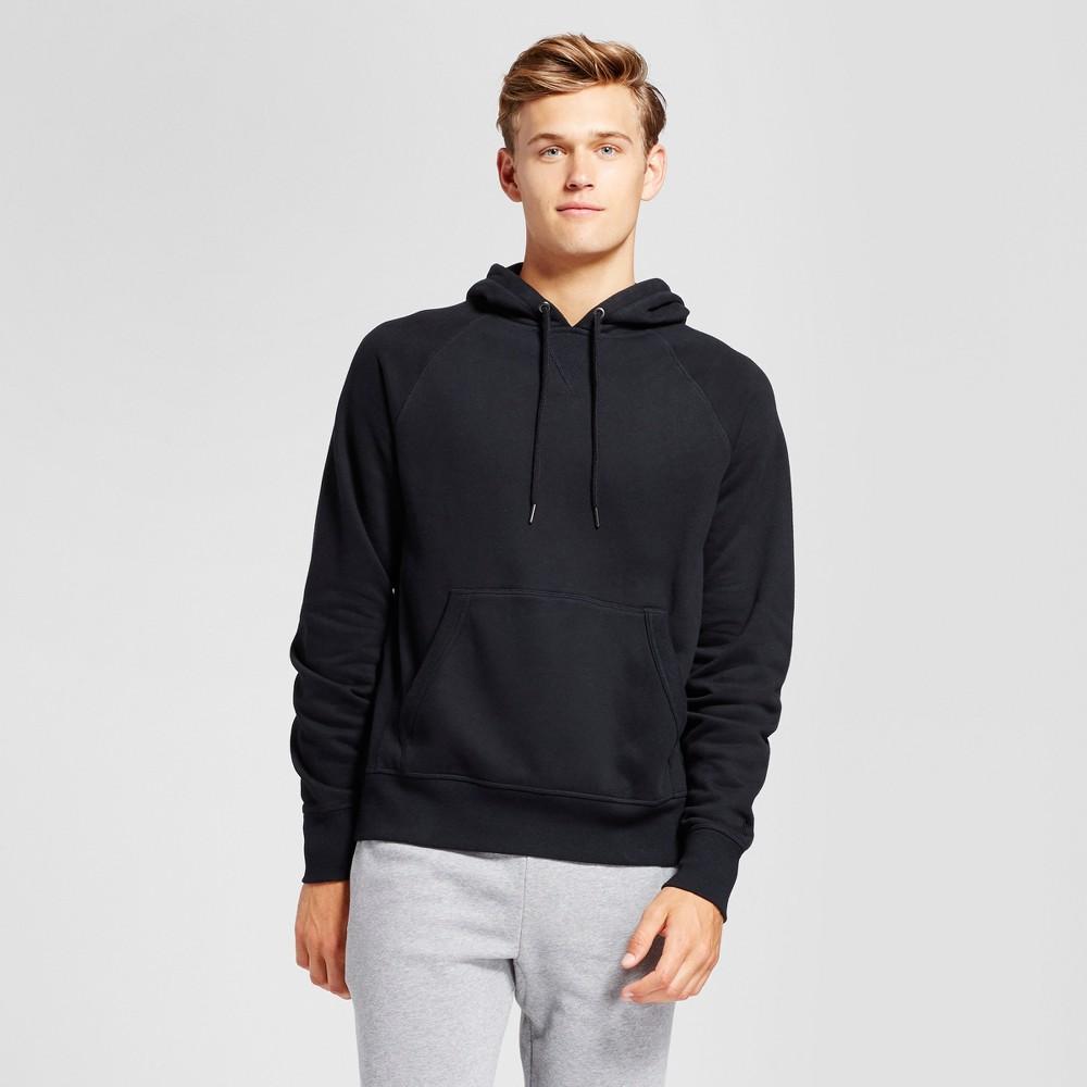 Mens Authentic Cotton Fleece Pullover - C9 Champion Black M
