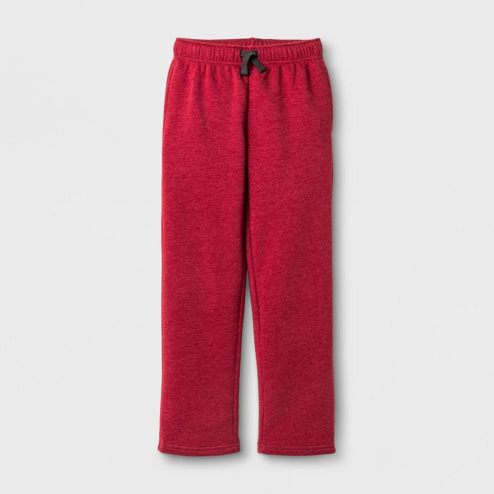 Boys Fleece Sweatpant - Cat & Jack Red XL