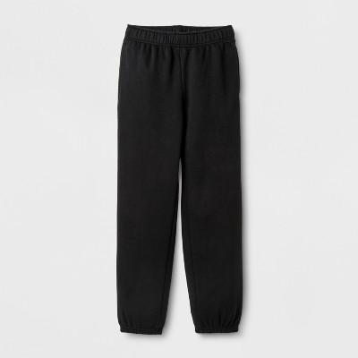 Boys' Fleece SweatPants - Cat & Jack™ Black S