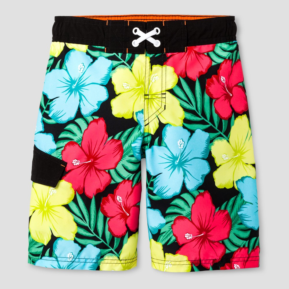 Boys Swim Trunks - Cat & Jack Black S