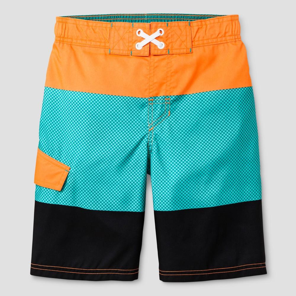 Boys Swim Trunks - Cat & Jack Orange XS