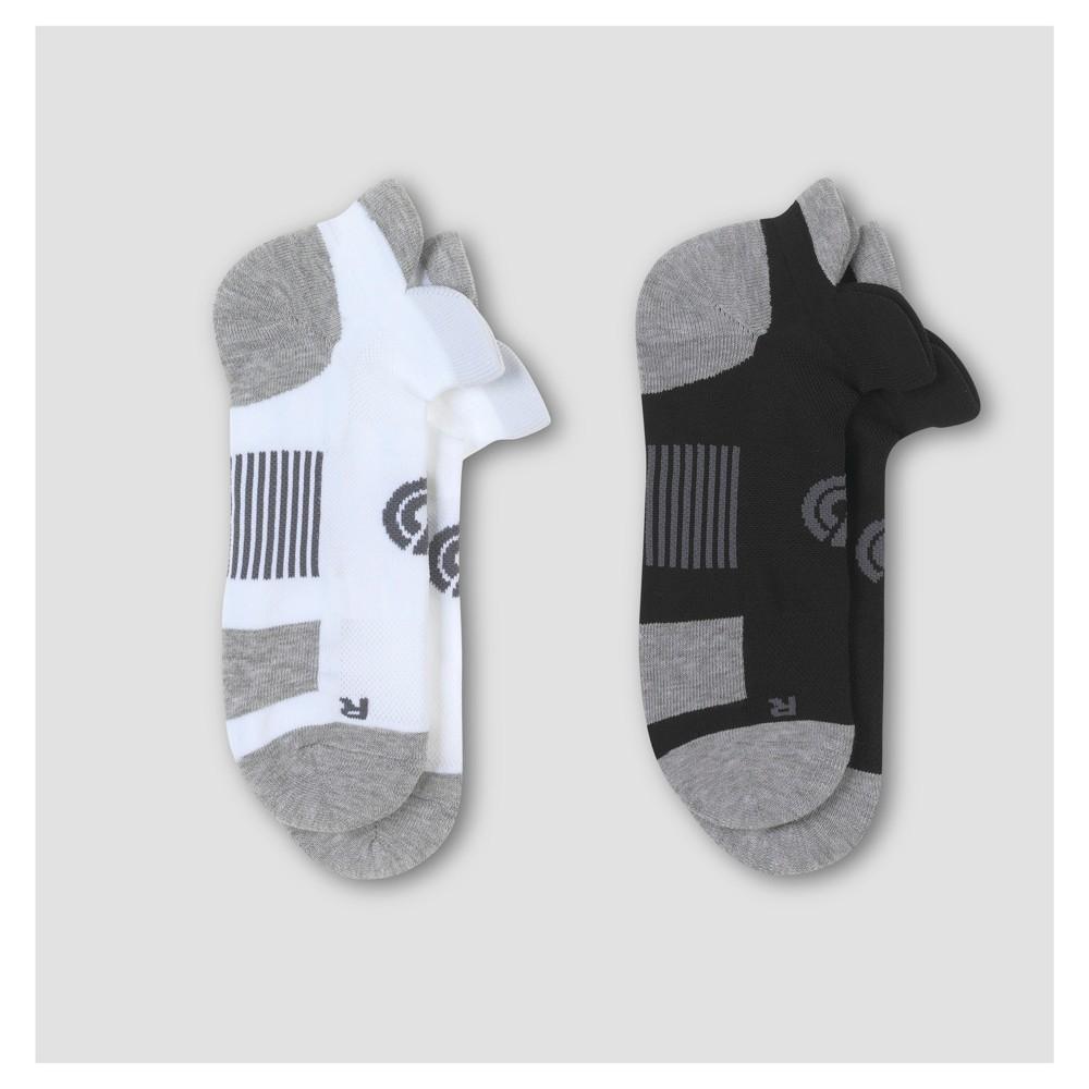 Mens Athletic Socks 2pk - C9 Champion 6-12, Multi-Colored