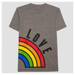 Pride Adult Couples Left Rainbow Love T-Shirt
