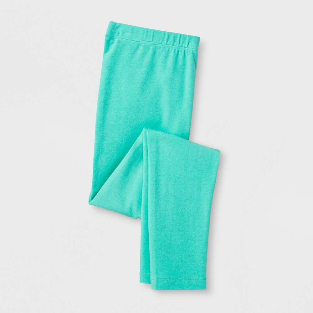 Girls Favorite Leggings - Cat & Jack Green XL
