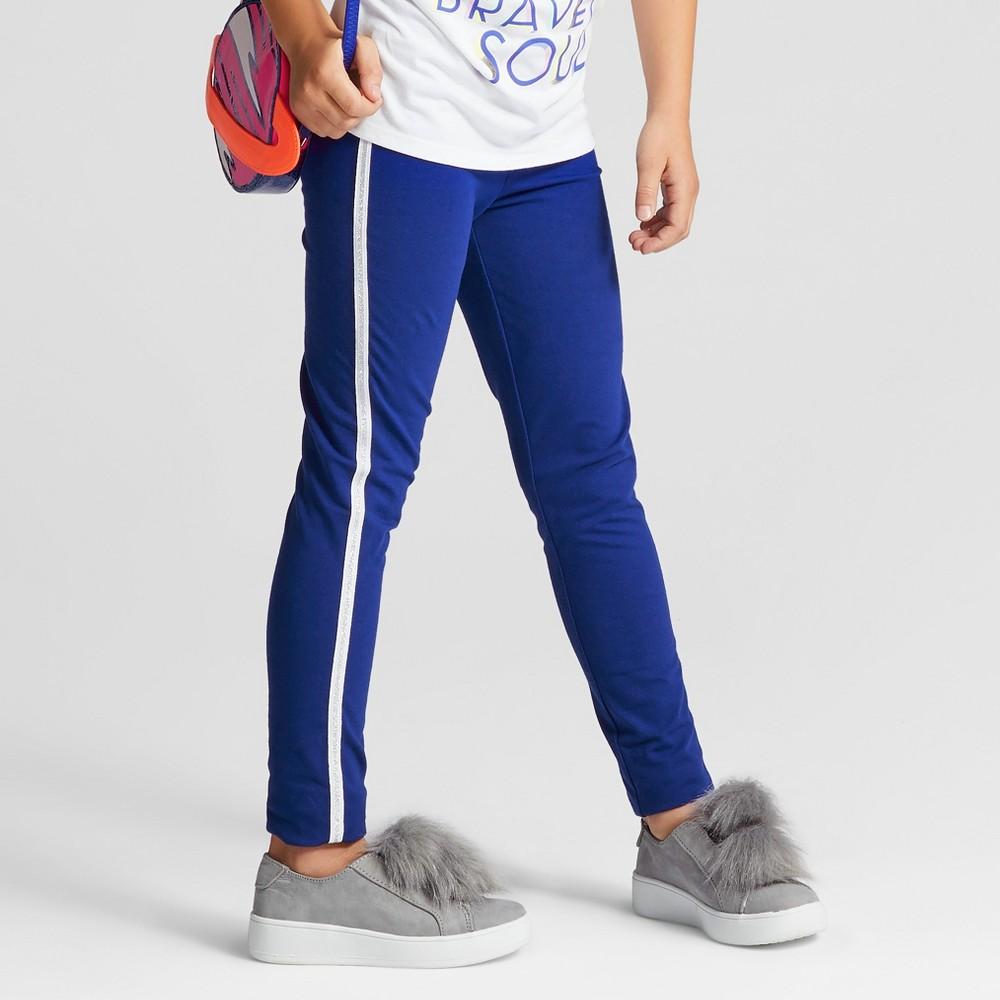 Girls Side Tape Favorite Leggings - Cat & Jack Blue XS