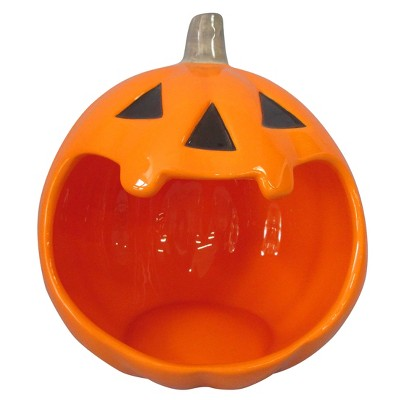 Halloween Ceramic Pumpkin Candy Bowl - Hyde and Eek! Boutique™
