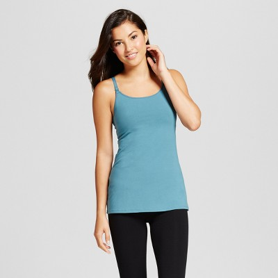 Women's Nursing Cotton Cami - Gilligan & O'Malley™ - Nokomis Blue L