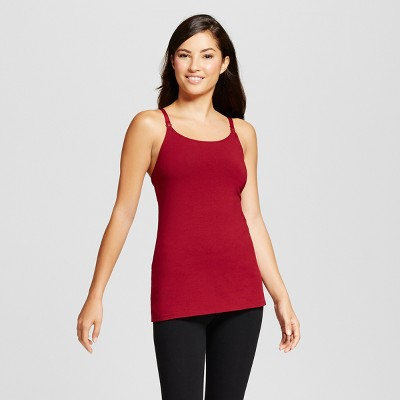 Women's Nursing Cotton Cami - Gilligan & O'Malley™ - Bing Cherry M
