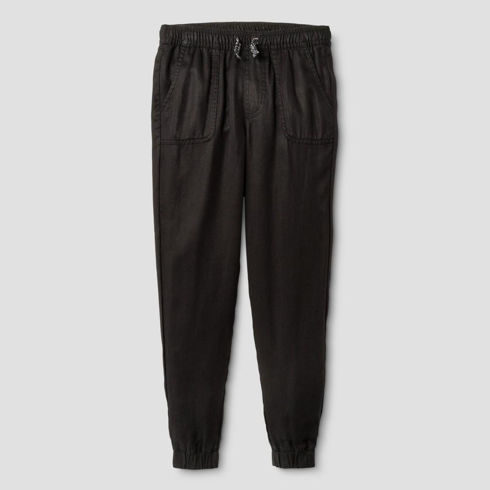 Girls Utility Fashion Jogger Pants - Cat & Jack Black M