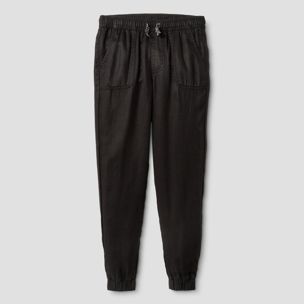 Plus Size Girls Utility Fashion Jogger Pants - Cat & Jack Black Xxlp, Size: Xxl Plus