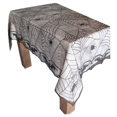 Halloween Lace Spiderweb Tablecloth - Hyde and Eek! Boutique™